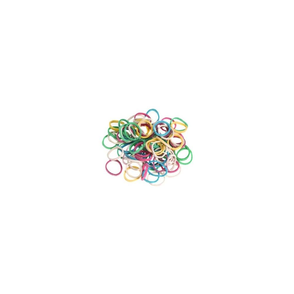 Elastici colorati poliuretano mini conf 100pz