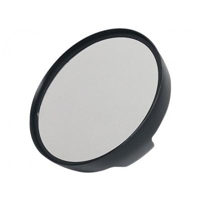Specchio tondo nero