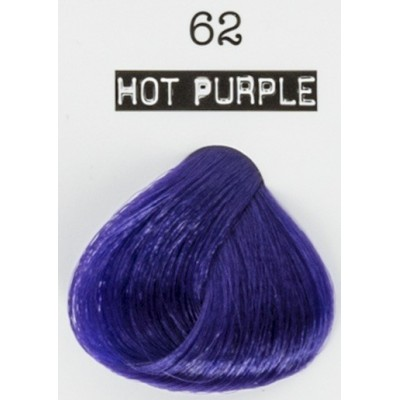 CRAZY COLOR 62 hot purple conf 4 pz