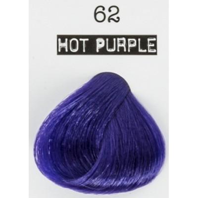 CRAZY COLOR 62 hot purple conf 4 pz