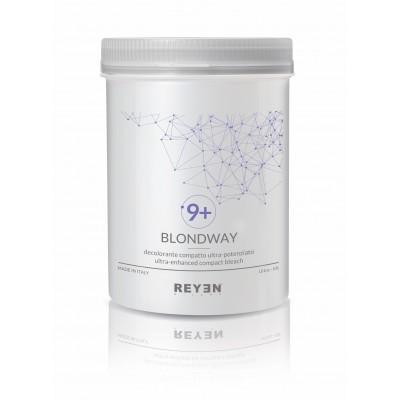 Blondway 9+ - Decolorante ultra potenziato fino a 9 toni