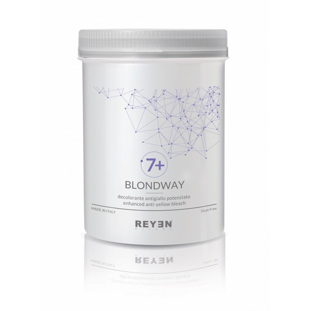 Blondway 7+ - Decolorante potenziato anti-giallo
