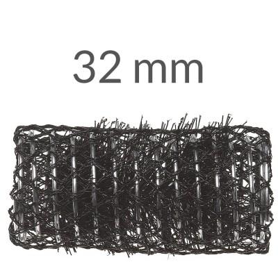 Bigodini ø 32mm x messa in piega conf 12pz