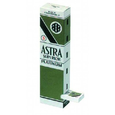 ASTRA lame superior platinum 100pz