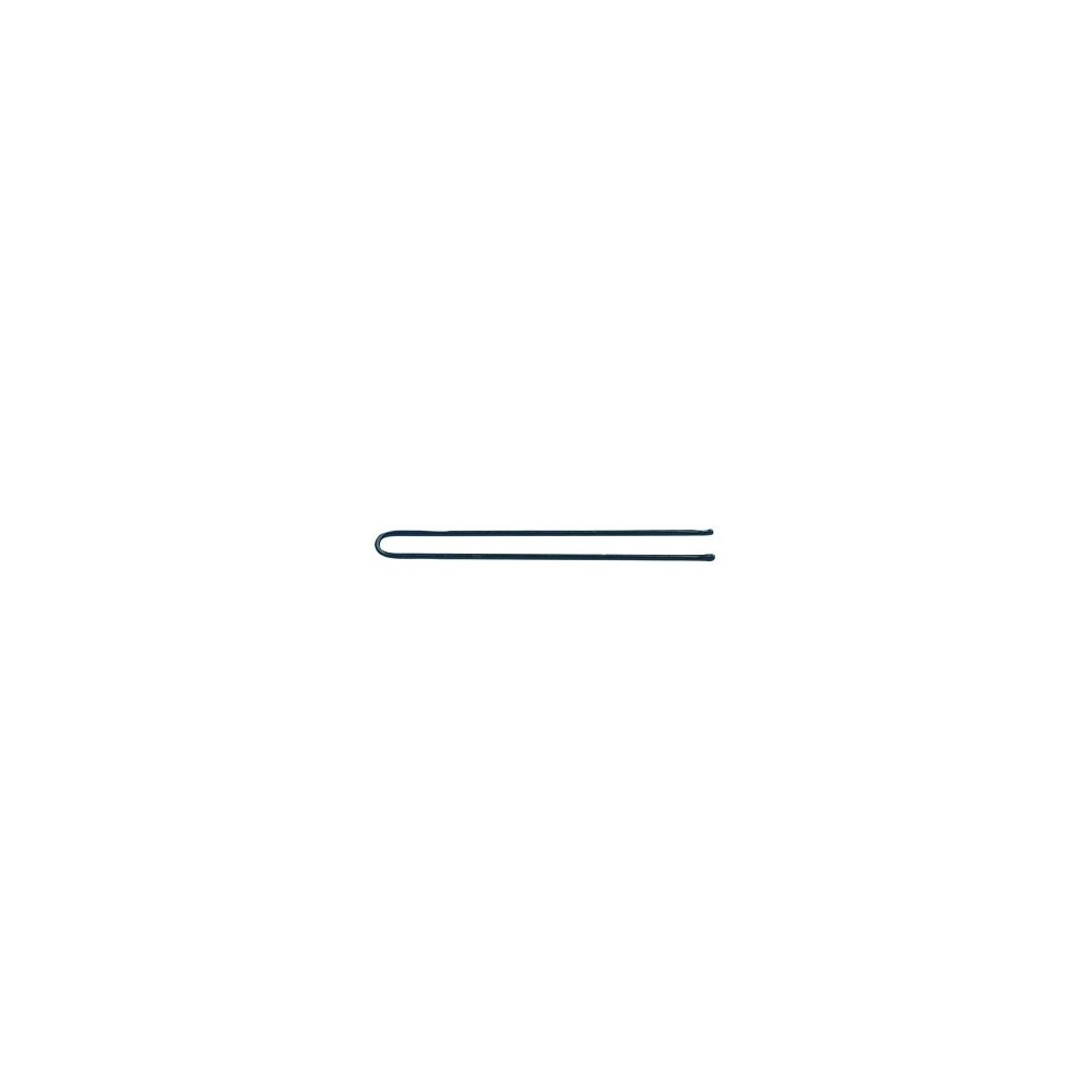 Forcine lisce nere 6,5cm conf. 500gr